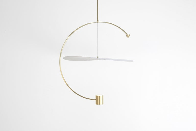 Modern Float Circle Pendant Light by Ladies & Gentlemen Studio For Sale