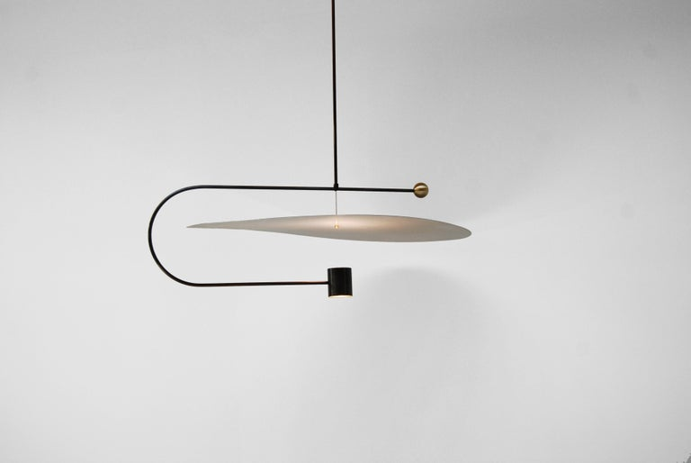 Float wide pendant light by Ladies & Gentlemen Studio Dimensions: 14