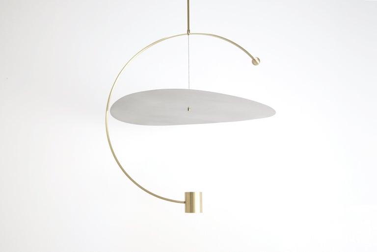 Modern Float Wide Pendant Light by Ladies & Gentlemen Studio  For Sale