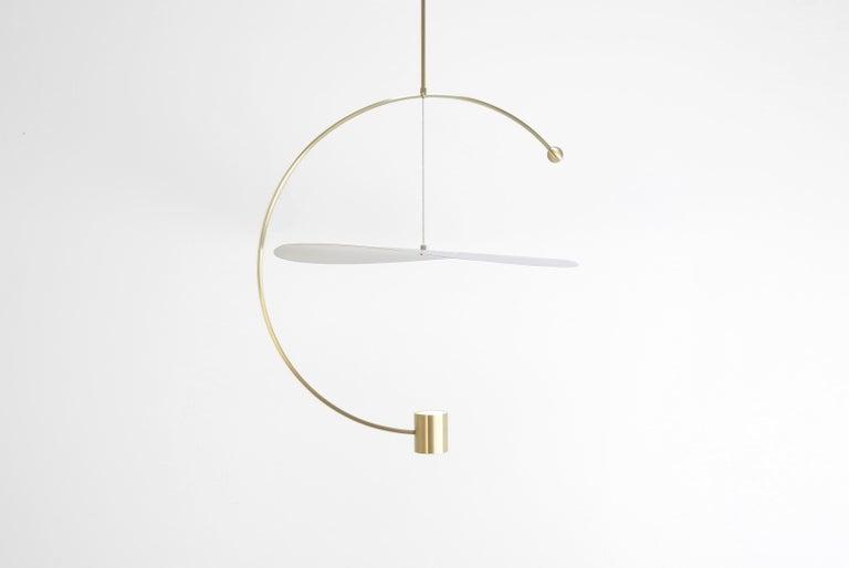 American Float Wide Pendant Light by Ladies & Gentlemen Studio  For Sale