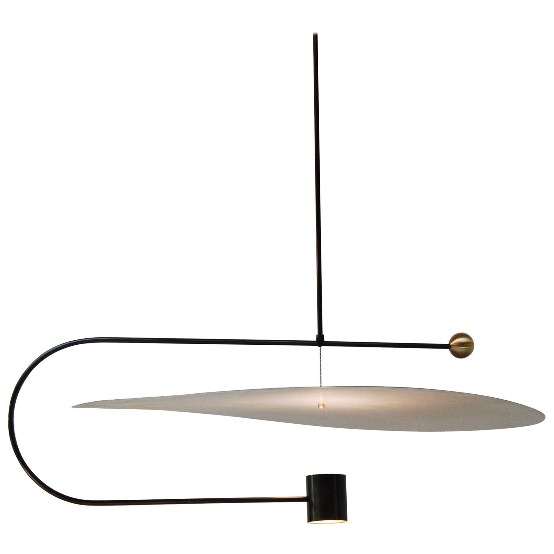 Float Wide Pendant Light by Ladies & Gentlemen Studio