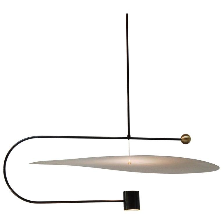 Float Wide Pendant Light by Ladies & Gentlemen Studio  For Sale