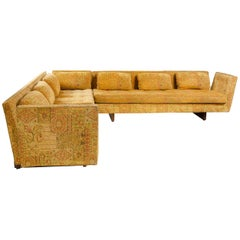 Floating Arm Sectional Sofa by Edward Wormley for Dunbar