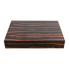 Floating Mid-Century Modern Macassar Ebony Coffee Table
