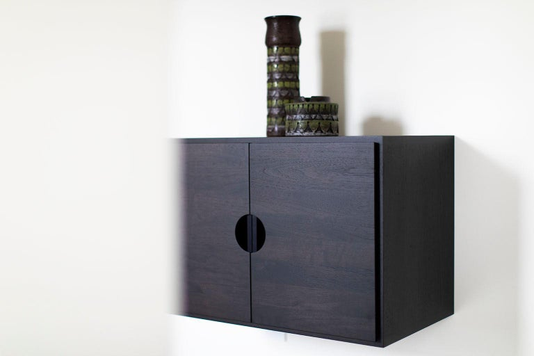 Contemporary Floating Nightstand For Sale