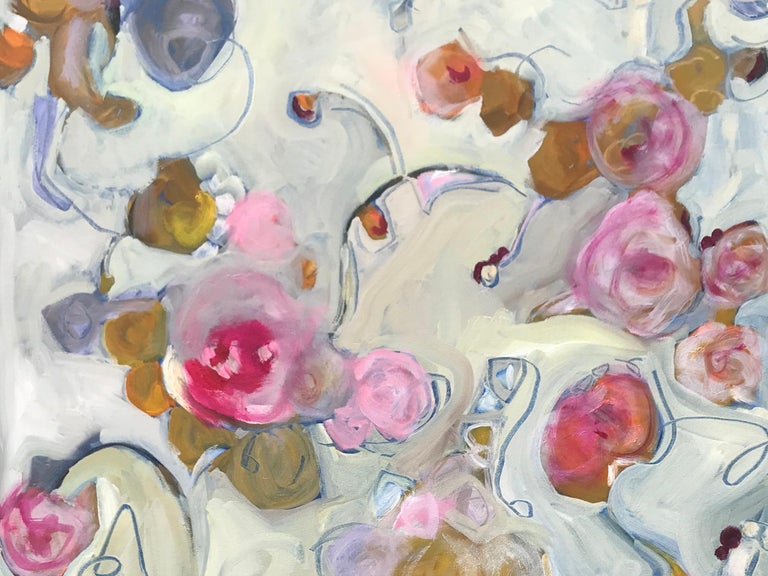 American Floating Roses, 2018, Signed, SRM For Sale