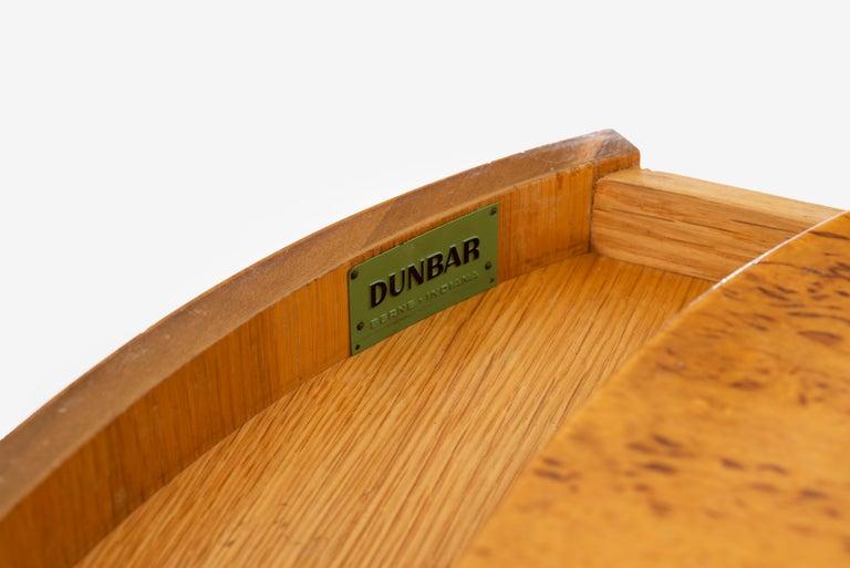 Floating Wall Console Demilune by Edward Wormley for Dunbar 1