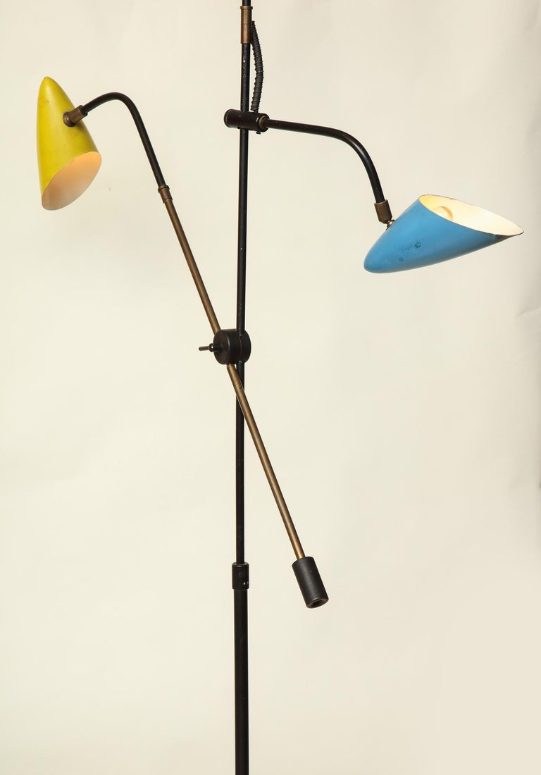 Floor Lamp Articulated Sculptural Mid-Century Modern, France, 1950s For Sale 3