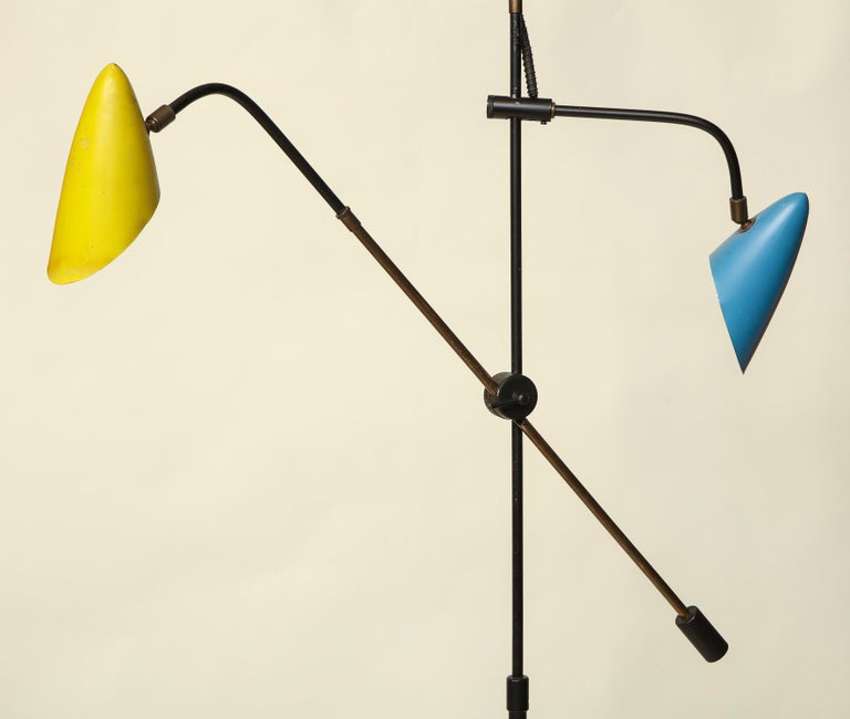 Floor Lamp Articulated Sculptural Mid-Century Modern, France, 1950s For Sale 5