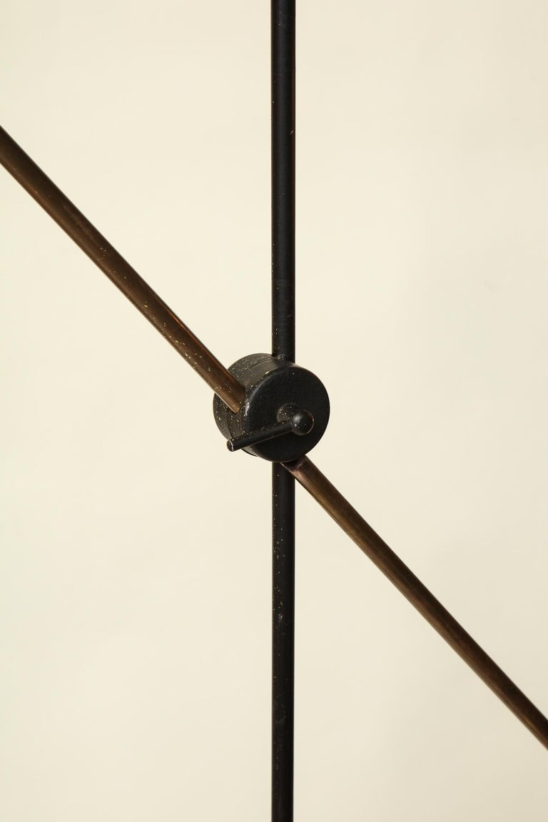 Floor Lamp Articulated Sculptural Mid-Century Modern, France, 1950s For Sale 6