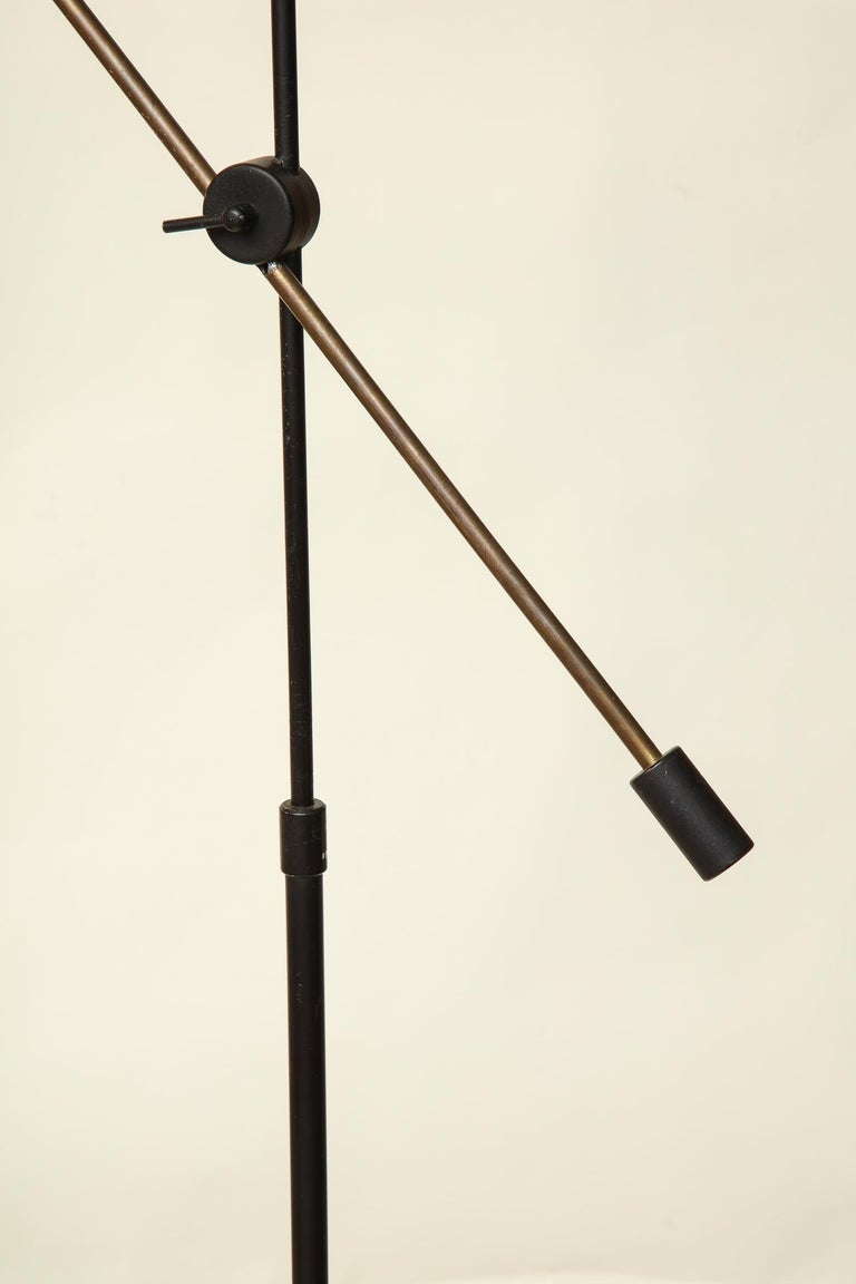 Floor Lamp Articulated Sculptural Mid-Century Modern, France, 1950s In Good Condition For Sale In New York, NY