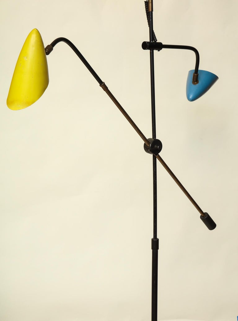 Floor Lamp Articulated Sculptural Mid-Century Modern, France, 1950s For Sale 1