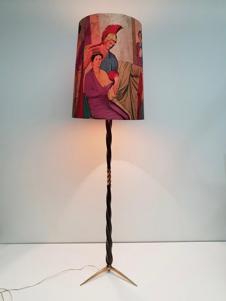 Floor Lamp Attributed to Borsani In Good Condition For Sale In Antwerp, BE