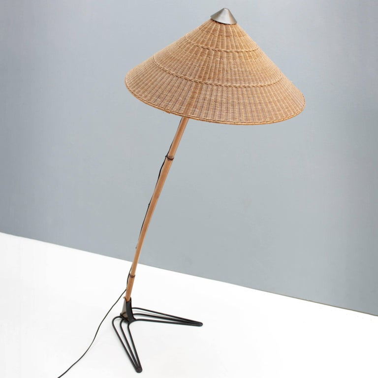 Floor Lamp Attributed to J.T. Kalmar Vienna For Sale at 1stdibs