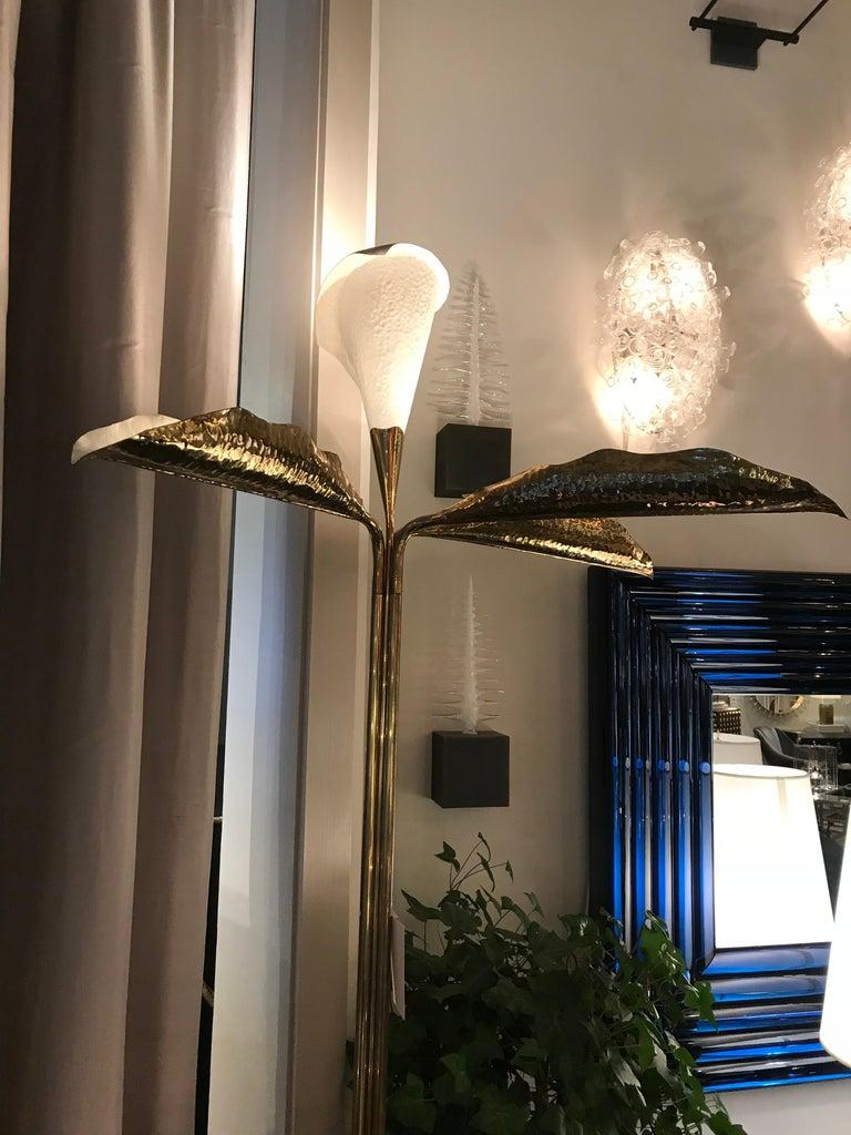 Italian Floor Lamp by Angelo Lelii Arredoluce, Italy, 'Monza,' 1950s For Sale