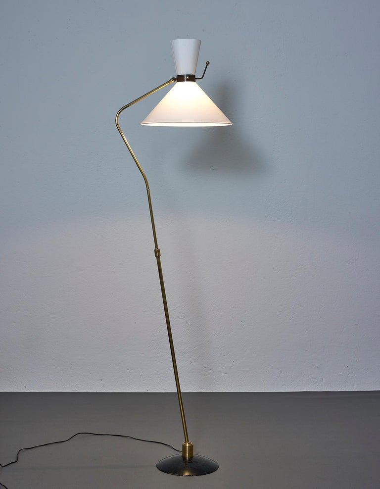 Floor Lamp by Arlus, France, 1950 In Good Condition For Sale In Renens, CH