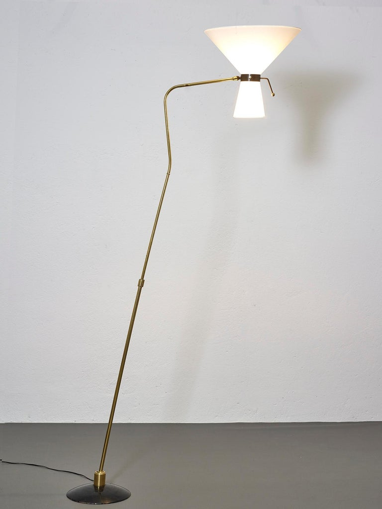 Floor Lamp by Arlus, France, 1950 For Sale 1