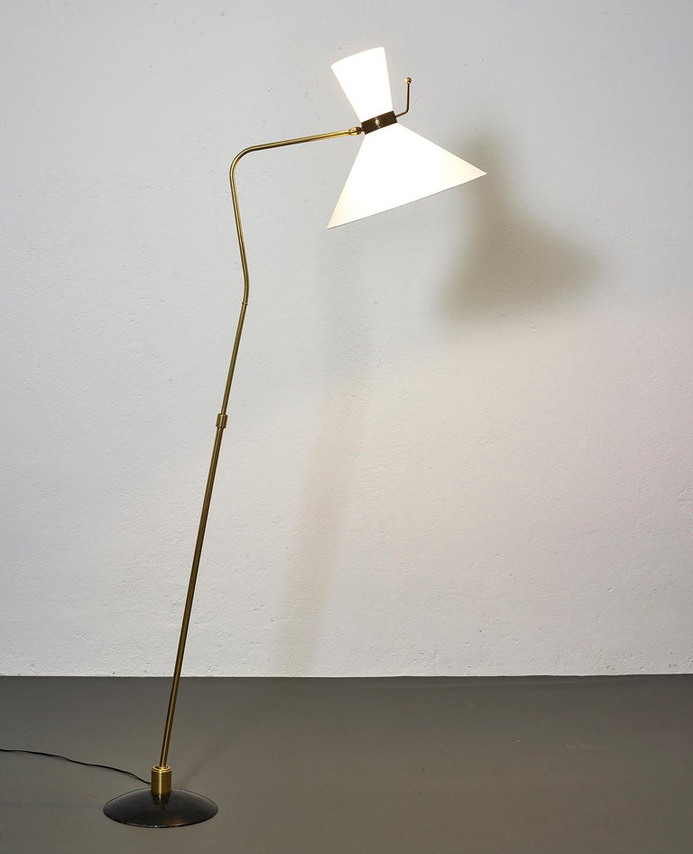 Floor Lamp by Arlus, France, 1950 For Sale 2
