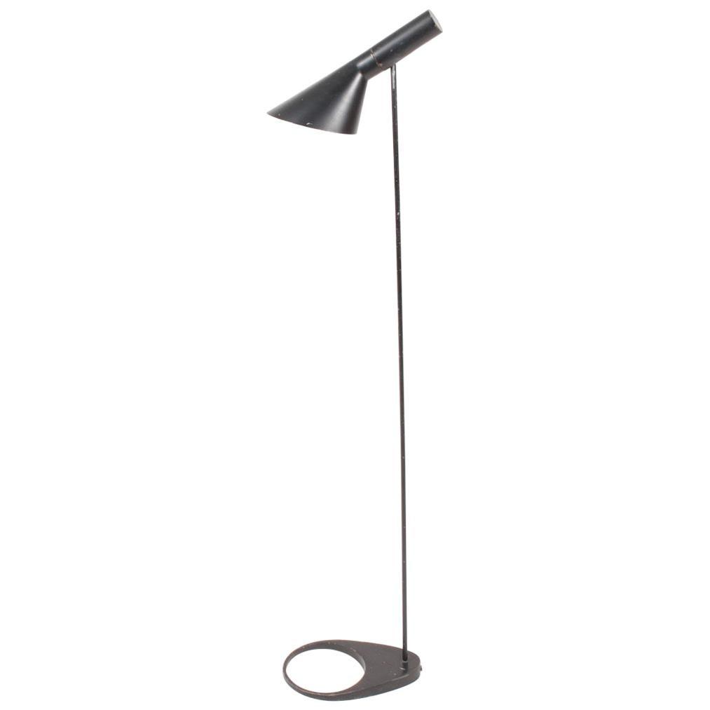 Floor Lamp by Arne Jacobsen, Scandinavian Modern, 1960s