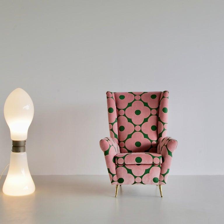 Late 20th Century Floor Lamp by AV Mazzega, Italy, c1970 For Sale
