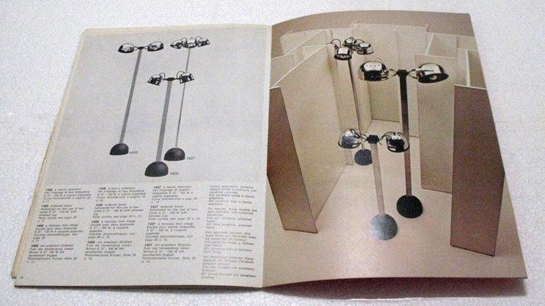 Mid-Century Modern Floor Lamp by Gae Aulenti and Livio Castiglioni for Stilnovo, Italy, 1972