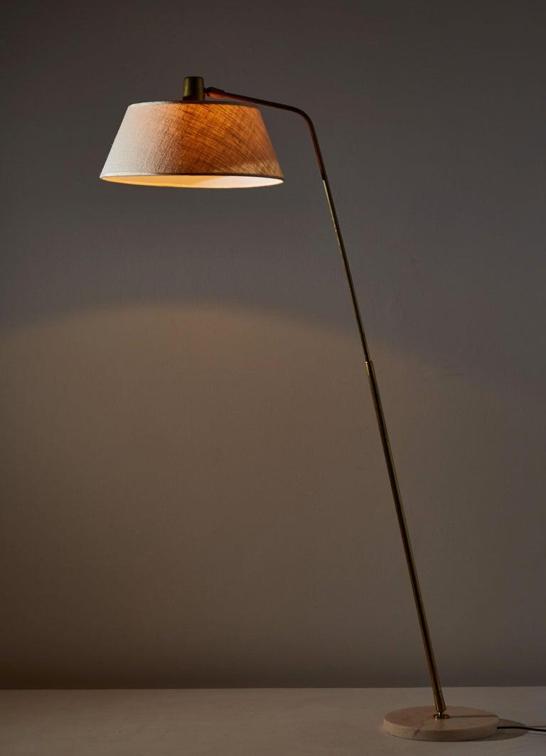Mid-Century Modern Floor Lamp by Giuseppi Ostuni for Oluce For Sale