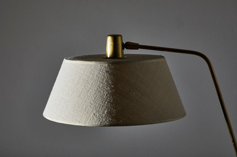 Mid-20th Century Floor Lamp by Giuseppi Ostuni for Oluce For Sale