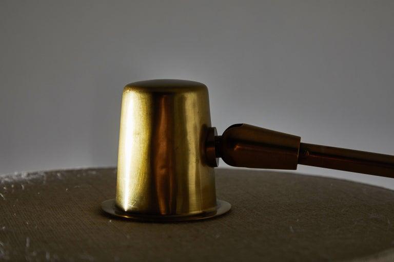 Brass Floor Lamp by Giuseppi Ostuni for Oluce For Sale