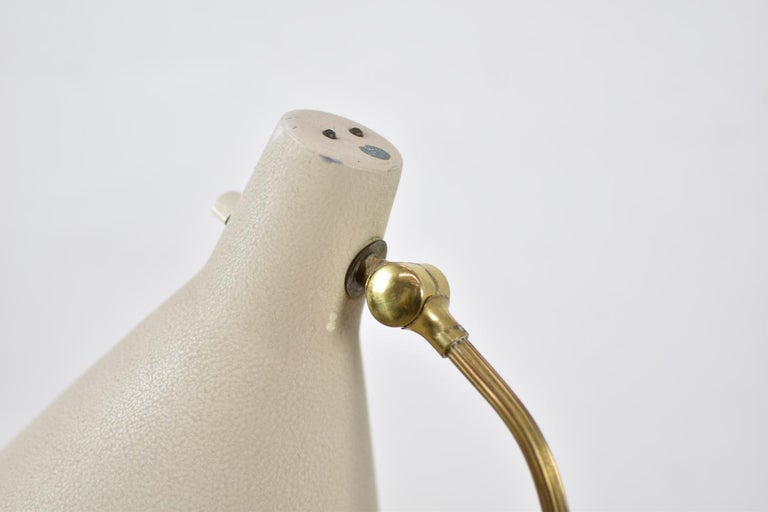 Floor Lamp by Hans Bergström for Ateljé Lyktan, Sweden, 1950 In Good Condition For Sale In Antwerp, BE