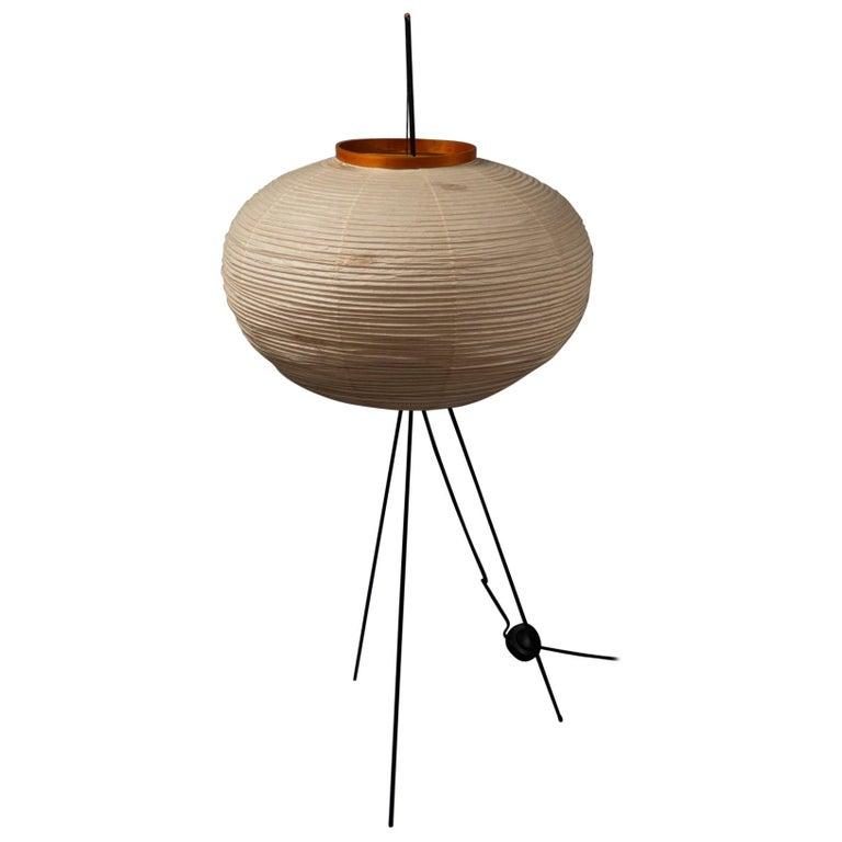 Isamu Noguchi floor lamp, 1950s, offered by Bernd Goeckler Antiques