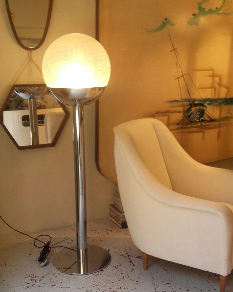 Mid-Century Modern Floor Lamp by Lumi, 1968 Milano  For Sale