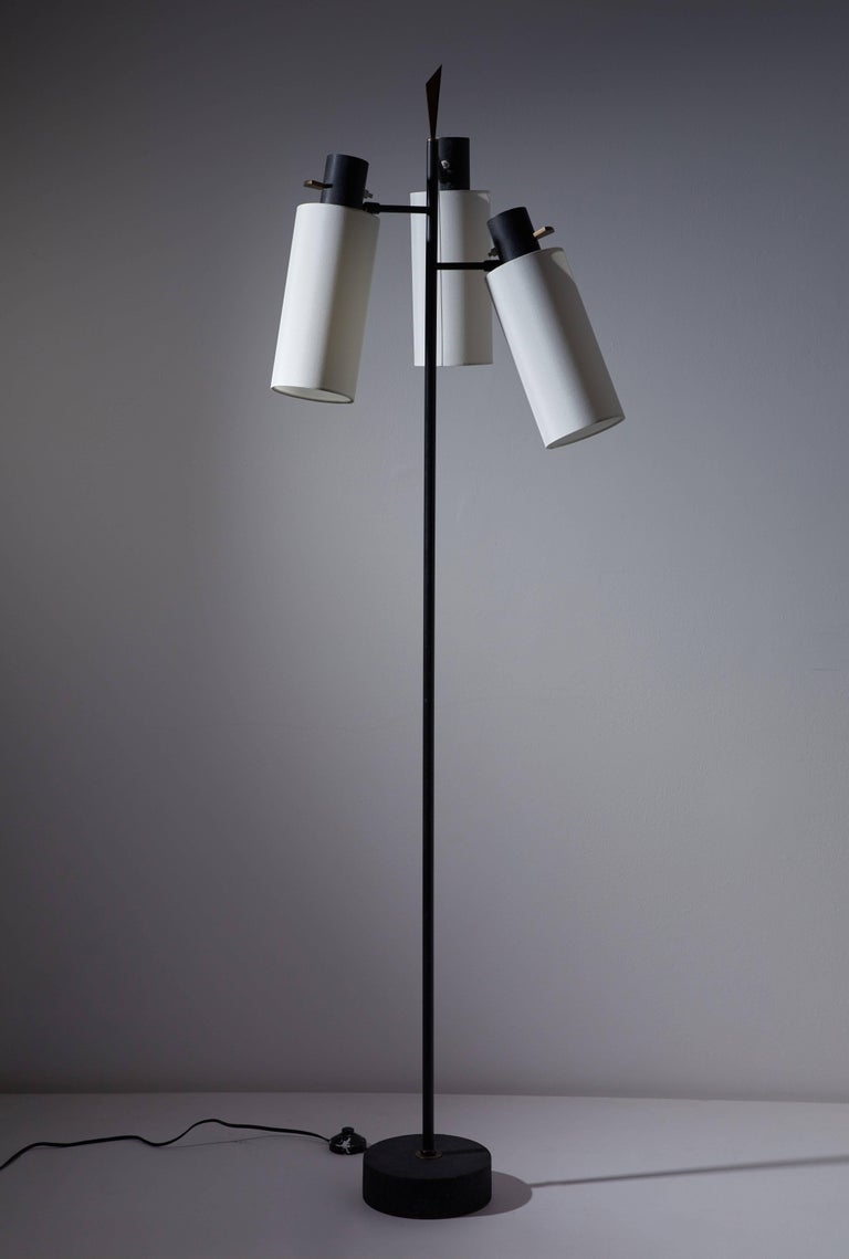 French Floor Lamp by Lunel For Sale