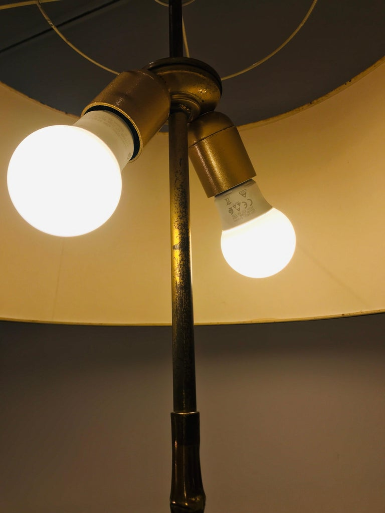 Mid-20th Century Floor Lamp by Maison Baguès For Sale