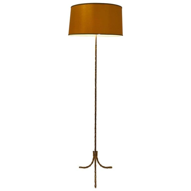 Floor Lamp by Maison Baguès For Sale