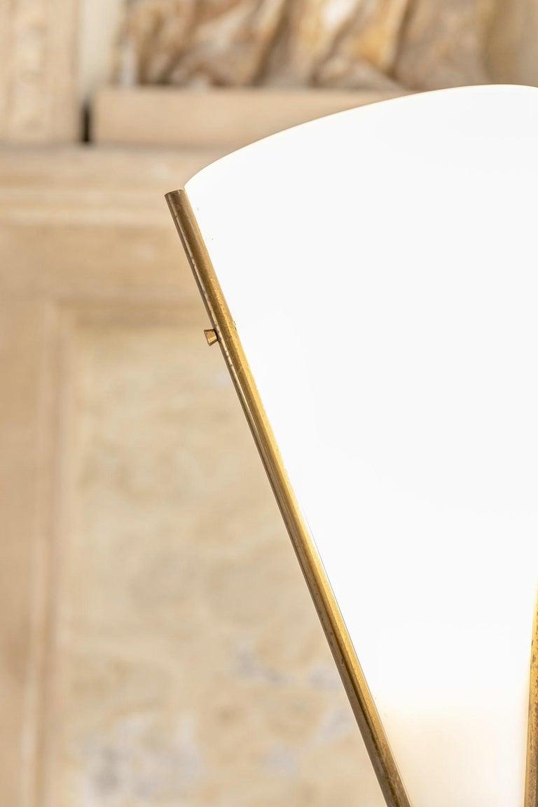 Italian Floor Lamp by Max Ingrand for Fontana Arte For Sale