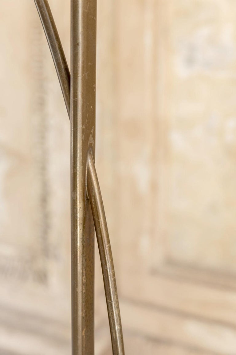 Brass Floor Lamp by Max Ingrand for Fontana Arte For Sale