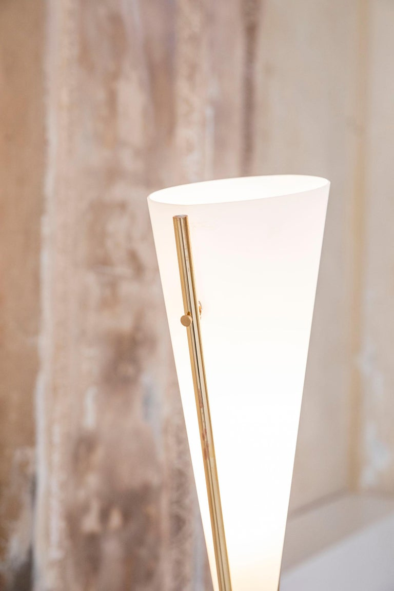 Floor Lamp by Max Ingrand for Fontana Arte For Sale 2