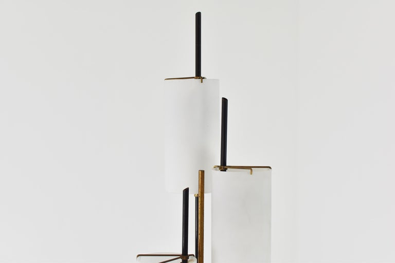 Floor Lamp Attributed by Stilnovo, Italy, circa 1948 In Good Condition For Sale In Antwerp, BE