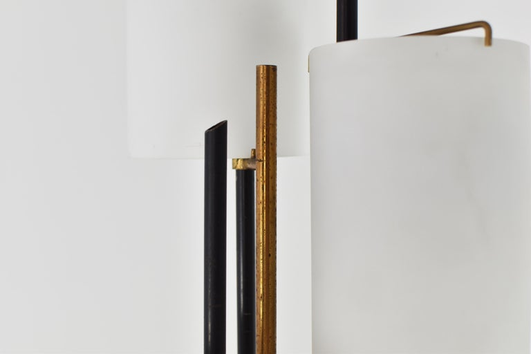 Mid-20th Century Floor Lamp Attributed by Stilnovo, Italy, circa 1948 For Sale
