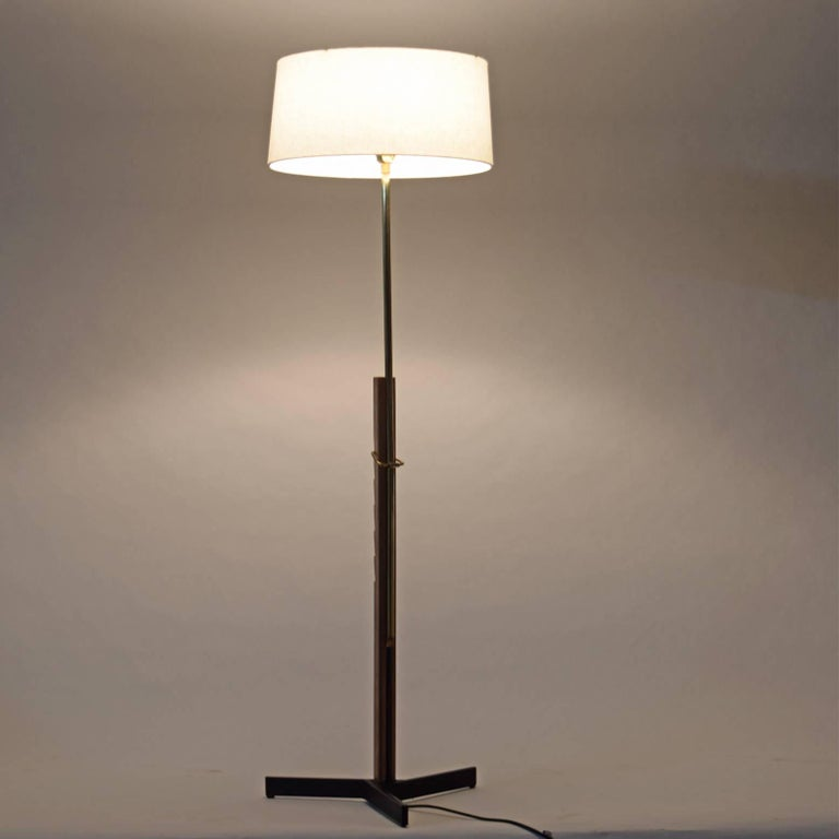 Scandinavian Modern Floor Lamp by Svend Aage Holm Sorensen For Sale