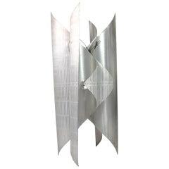 Floor Lamp Design by L. Burchiellaro, Produced by Atelier Burchiellaro, Italy