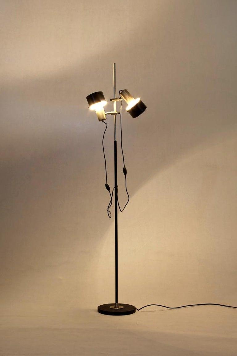 Italian Floor Lamp, Design by Stilnovo, Italy, 1960s For Sale