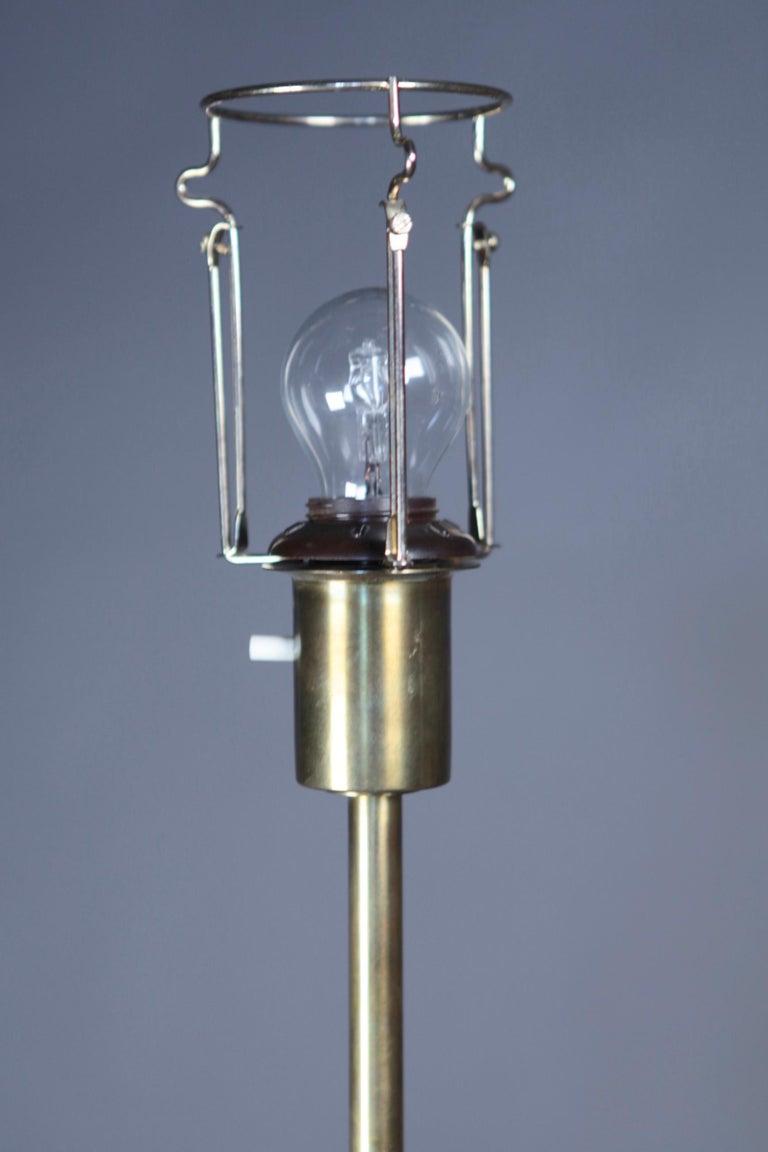 Floor Lamp Designed by Harald Elof Notini for Böhlmarks, Sweden, 1940s For Sale 1