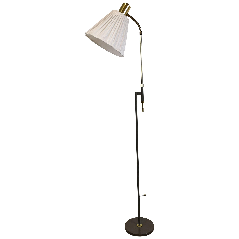 Floor Lamp Falkenbergs Belysning Sweden, 1950s
