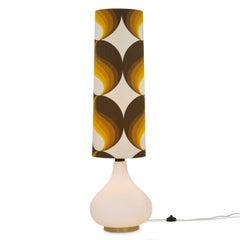 German Floor Lamp Manufactured by Doria, 1970s