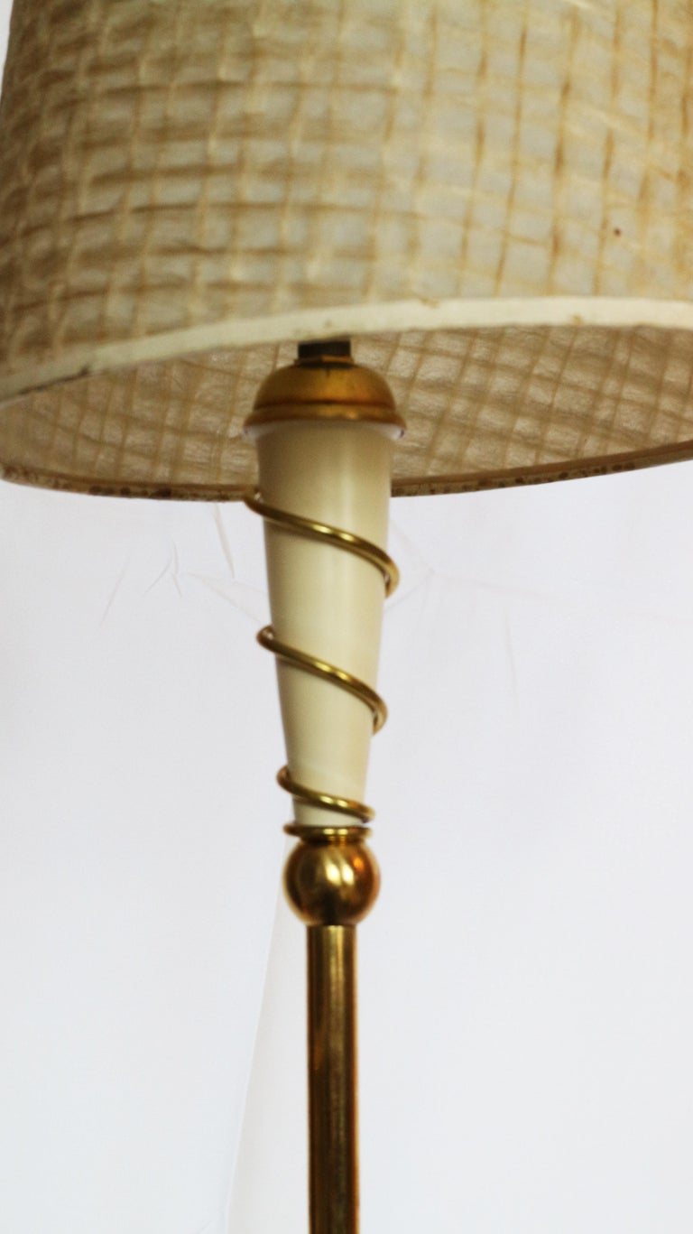 Floor Lamp, France, circa 1950 In Excellent Condition In Carpi, Modena