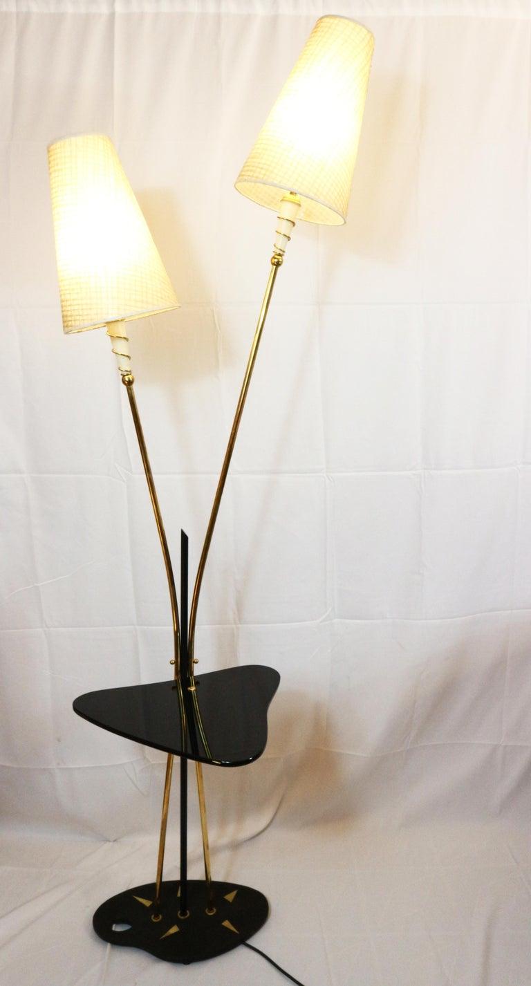 Mid-20th Century Floor Lamp, France, circa 1950