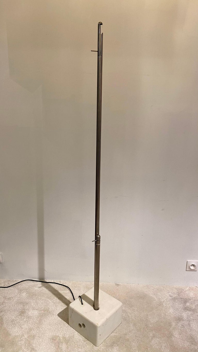 Floor lamp laser designed by Giorgio De Ferrari for VeArt , 1973.