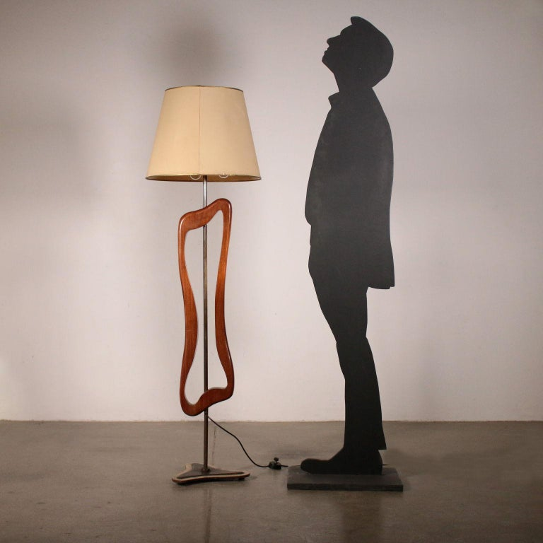 Mid-Century Modern Floor Lamp Manufactured in Argentine Vintage, 1950s For Sale