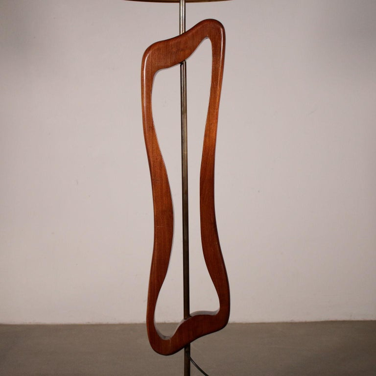 Mid-20th Century Floor Lamp Manufactured in Argentine Vintage, 1950s For Sale